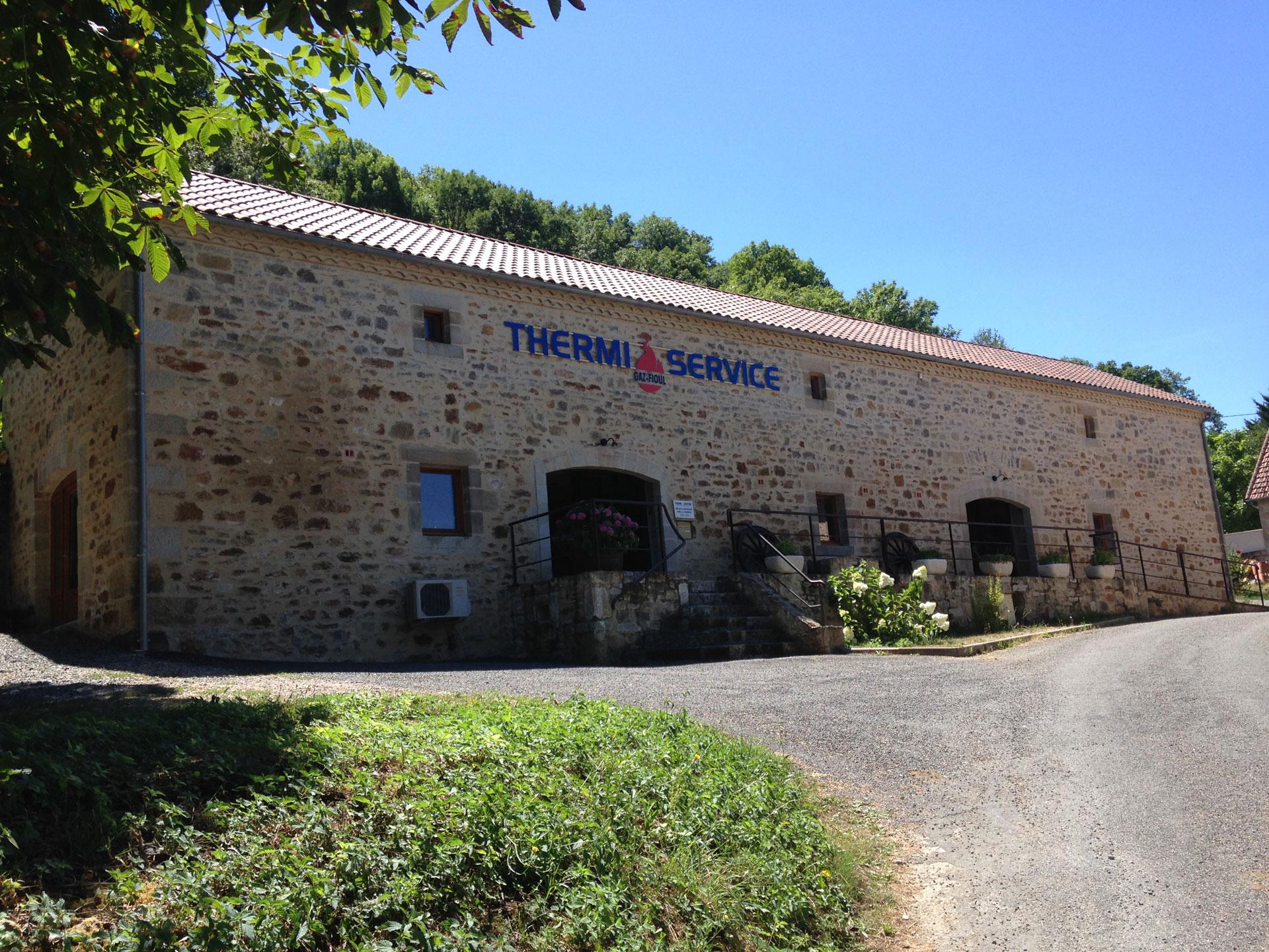 Locaux Thermi Service