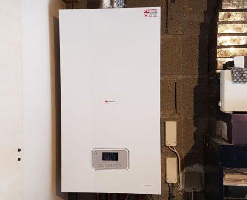 Installation chaudière basse température