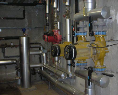 Installation circuit hydraulique Thermi Service