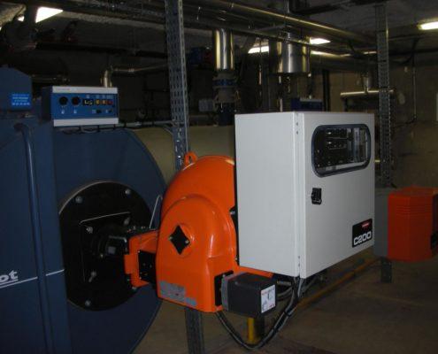 Maintenance chaudière 2000kW
